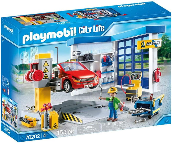 PLAYMOBIL 70202 CITY LIFE CAR REPAIR GARAGE