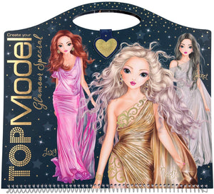TOP MODEL 10733 GLAMOUR SPECIAL COLOURING BOOK