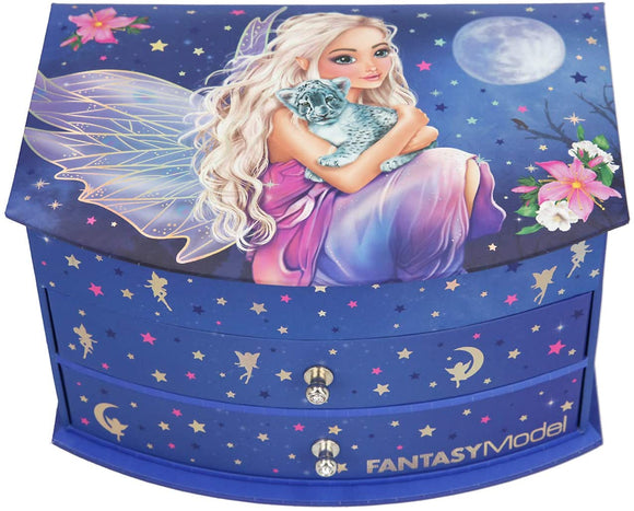 TOP MODEL 11236 FANTASY MODEL JEWELLERY BOX WITH MIRROR