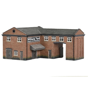 GRAHAM FARISH  SCENECRAFT 42-0086 INDUSTRIAL GATE HOUSE