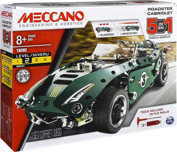 MECCANO 6040176 5 IN 1 MODELS CONSTRUCTION SET