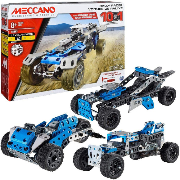 MECCANO 6040178 10 IN 1 MODELS CONSTRUCTION SET