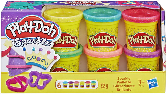 PLAYDOH A5417 SPARKLE MINI 6 TUB