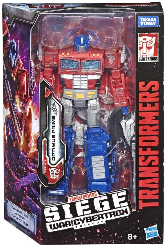 TRANSFORMERS E3541 WAR FOR CYBERTRON OPTIMUS PRIME