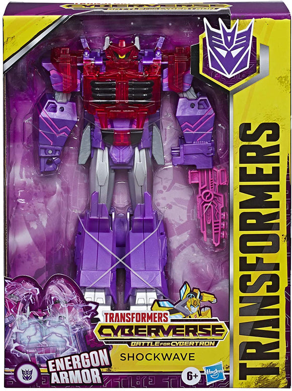 TRANSFORMERS E7113 CYBERVERSE ADVENTURES SHOCKWAVE
