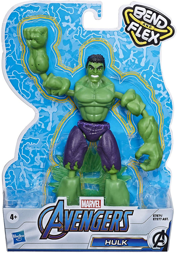 MARVEL E7871 AVENGERS BEND AND FLEX HULK