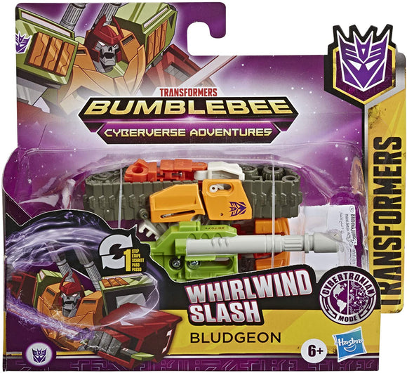 TRANSFORMERS E7071 CYBERVERSE WHIRLWIND SLASH BLUDGEON