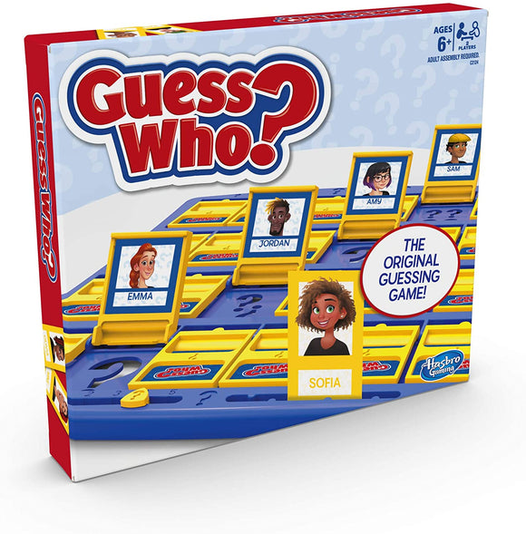 HASBRO GAMING C2124 GUESS WHO GAME