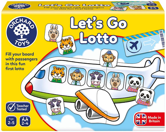 ORCHARD TOYS 094 LETS GO LOTTO GAME