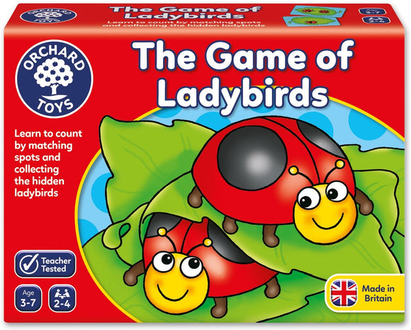 ORCHARD TOYS 009 THE GAME OF LADYBIRDS GAME