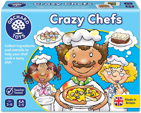 ORCHARD TOYS 017 CRAZY CHEFS GAME