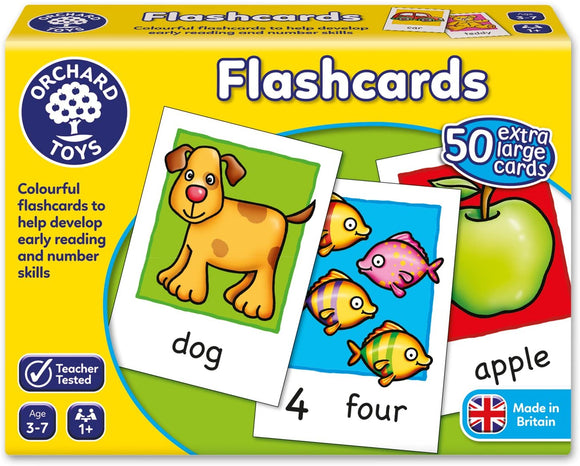 ORCHARD TOYS 019 FLASHCARDS GAME