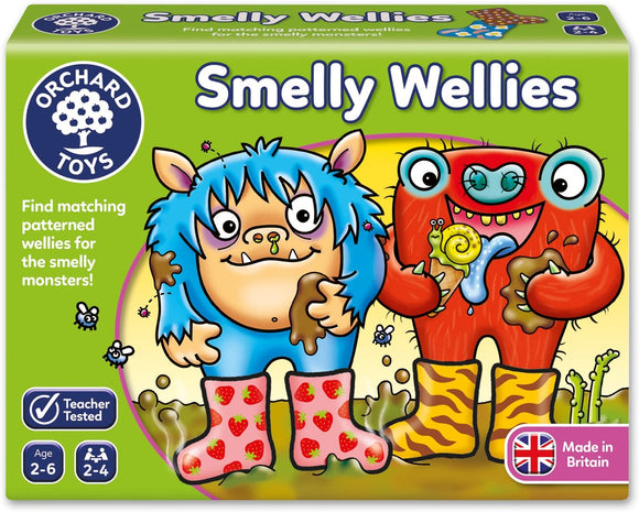 ORCHARD TOYS 026 SMELLY WELLIES GAME