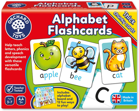 ORCHARD TOYS 024 ALPHABET FLASHCARDS GAME