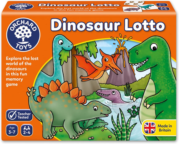 ORCHARD TOYS 036 DINOSAUR LOTTO GAME