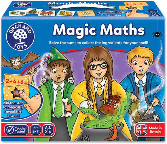 ORCHARD TOYS 092 MAGIC MATHS GAME