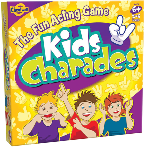 CHEATWELL GAMES 01760 KIDS CHARADES GAME