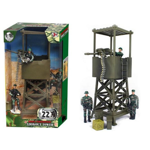 WORLD PEACEKEEPERS 7244 LOOKOUT TOWER