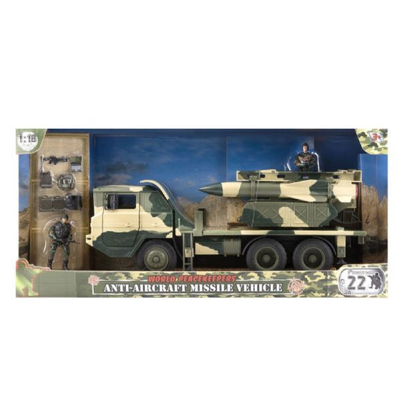 WORLD PEACEKEEPERS 77090 ANTI-AIRCRAFT MISSILE VEHICLE