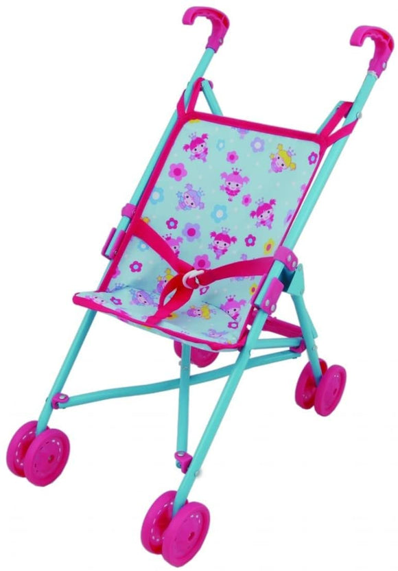 DOLLS WORLD 8181 DOLLS FOLDING UMBRELLA STROLLER
