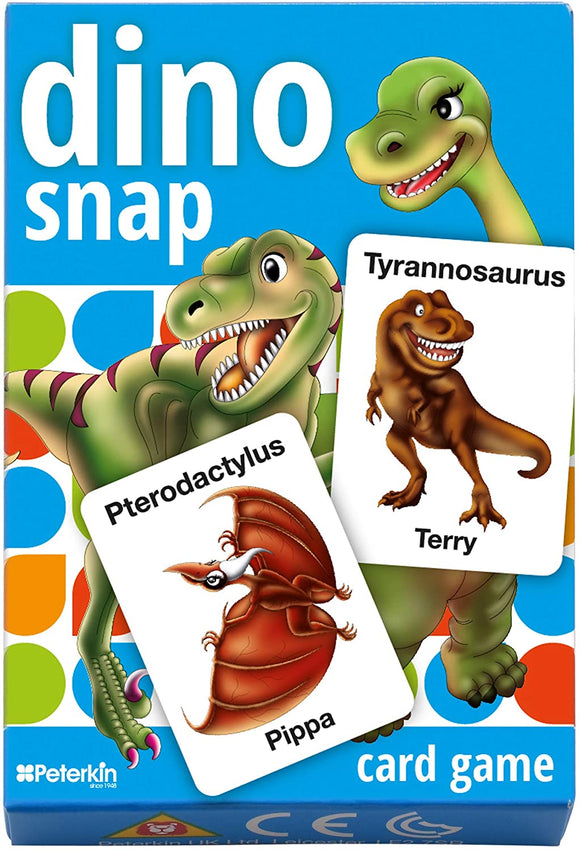 PETERKIN 25102 DINO SNAP CARD GAME