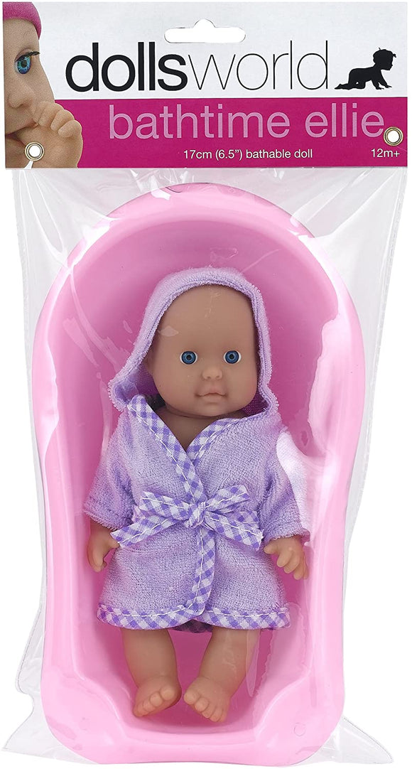 DOLLS WORLD 60220 LITTLE BATHTIME BABY DOLL