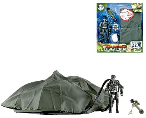WORLD PEACEKEEPERS 72421 ACTION FIGURE WITH PARACHUTE