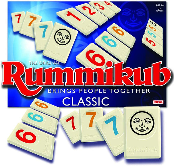 IDEAL 10140 RUMMIKUB CLASSIC BOARD GAME