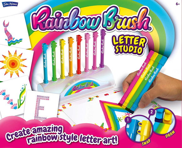 BLO PENS 10832 RAINBOW BRUSH LETTER STUDIO