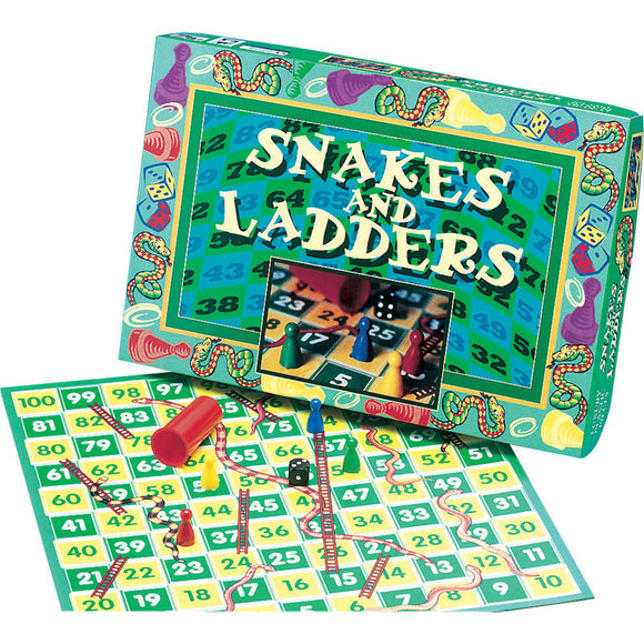 IDEAL GAMES 8247 SNAKES AND LADDERS