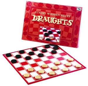IDEAL 8249 DRAUGHTS BOARD GAME