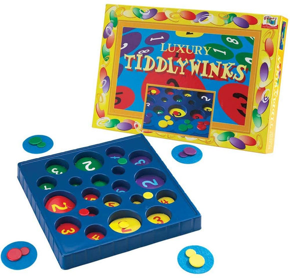 IDEAL GAMES 8503 TIDDLYWINKS GAME