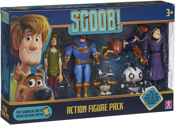 SCOOBY DOO 7186 SCOOBY ACTION FIGURE PACK