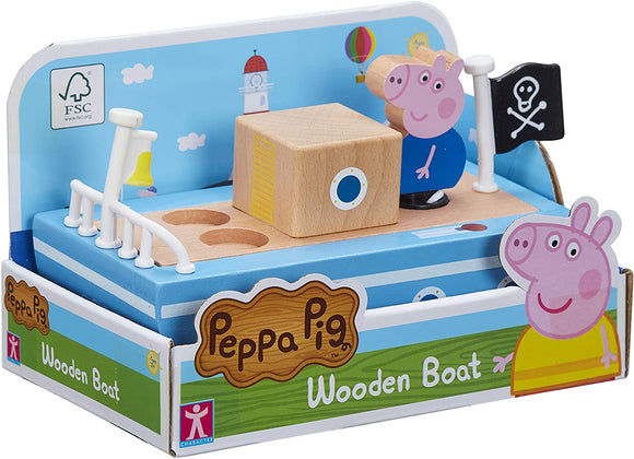 PEPPA PIG 7209 WOODEN BOAT