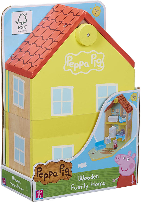 PEPPA PIG 7213 WOODEN FAMILY HOME