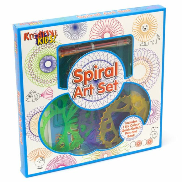 TOYMASTER TY1427 SPIRAL ART DRAWING SET