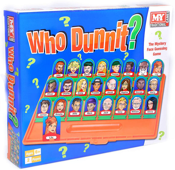 TOYMASTER TY457 WHO DUNNIT? GAME