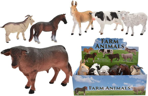TOYMASTER TY9500 LARGE FARM ANIMALS (ASSORTED  DESIGNS ONE SUPPLIED)