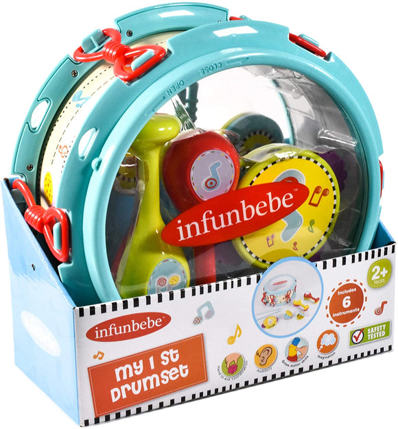 INFUNBEBE TY2447 MY FIRST DRUMSET MUSICAL INSTRUMENTS