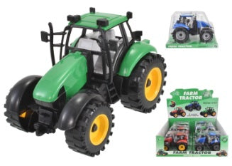 TOYMASTER TY2635 FRICTION FARM TRACTOR (ASST COLOURS ONE SUPPLIED)