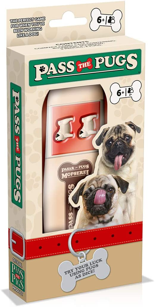 WINNING MOVES WM00955 PASS THE PUGS