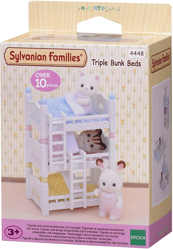 SYLVANIAN 4448 TRIPLE BUNK BEDS