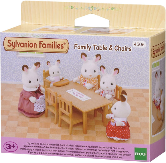 SYLVANIAN FAMILIES 4506 - FAMILY TABLE & CHAIRS