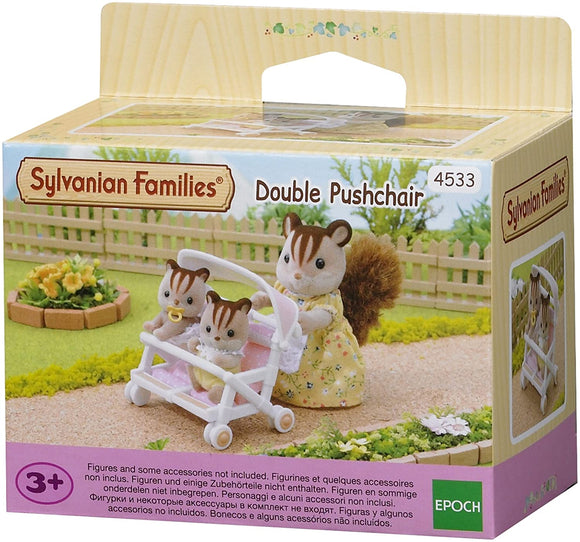 SYLVANIAN 4533 -DOUBLE PUSHCHAIR