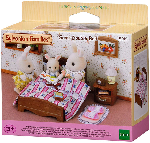 SYLVANIAN FAMILIES 5019 SEMI-DOUBLE BED