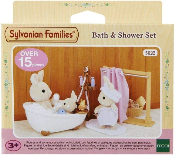 SYLVANIAN FAMILIES 5022 -BATH & SHOWER SET