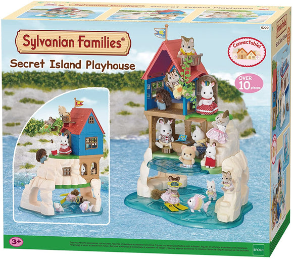 SYLVANIAN 5229 SECRET ISLAND PLAYHOUSE