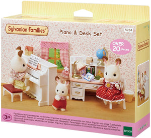 SYLVANIAN FAMILIES 5284 PIANO AND DESK SET