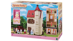 SYLVANIAN FAMILIES 5400 RED ROOF TOWER HOME