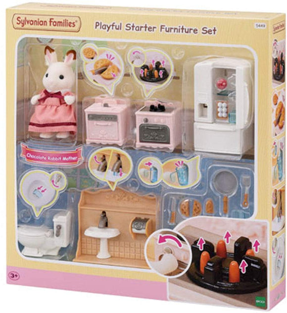 SYLVANIAN FAMILIES 5449 - PLAYFUL STARTER FURNITURE SET